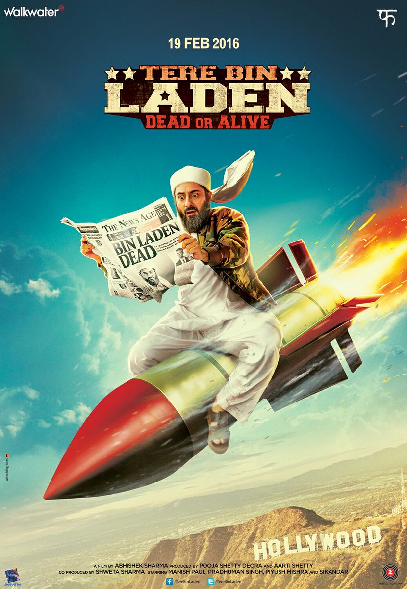 Download Tere Bin Laden Dead or Alive 2016 Hindi 720p HDRip x264 AC3 - Torrent