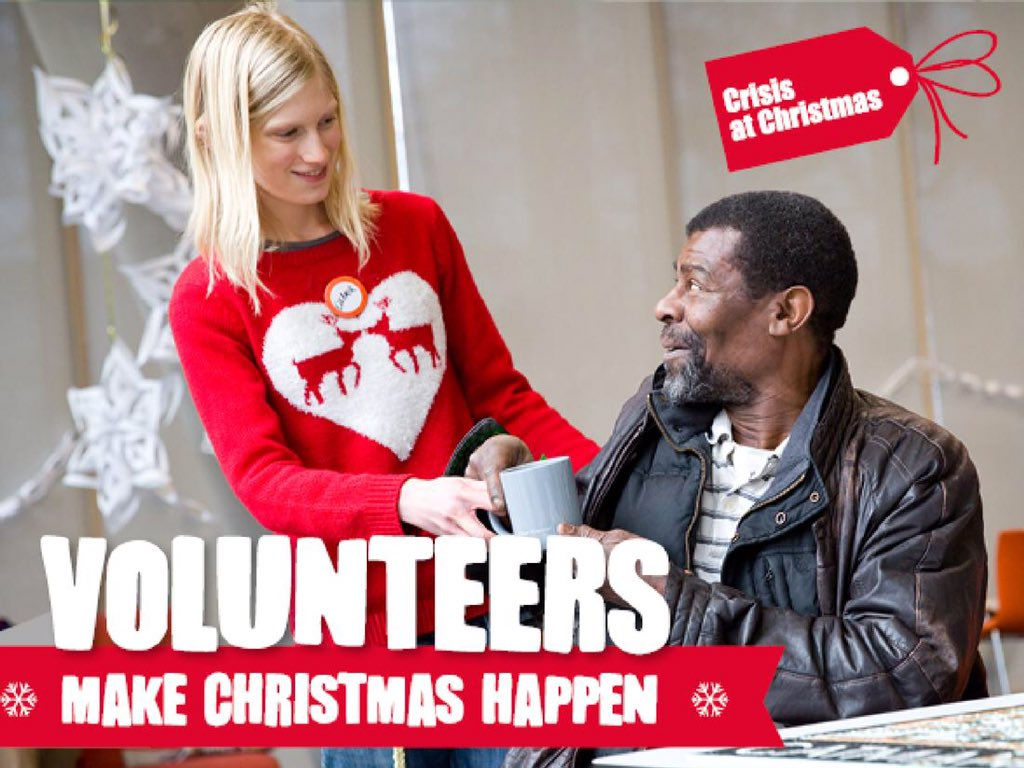 Crisis are asking you to help make Christmas happen for homeless people this holiday period. https://t.co/B62tgStL9j https://t.co/3mxZ1jynH7
