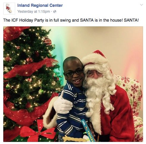 "If you feel ""desensitized,"" here's a photo from the Inland Regional Center's holiday party yesterday. https://t.co/3JwHQTg5cX"