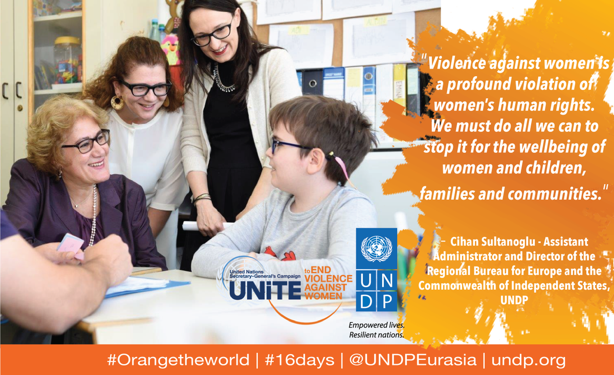 Our chief @csultanoglu calls for an end to violence against women #orangetheworld https://t.co/syulKcQOAB