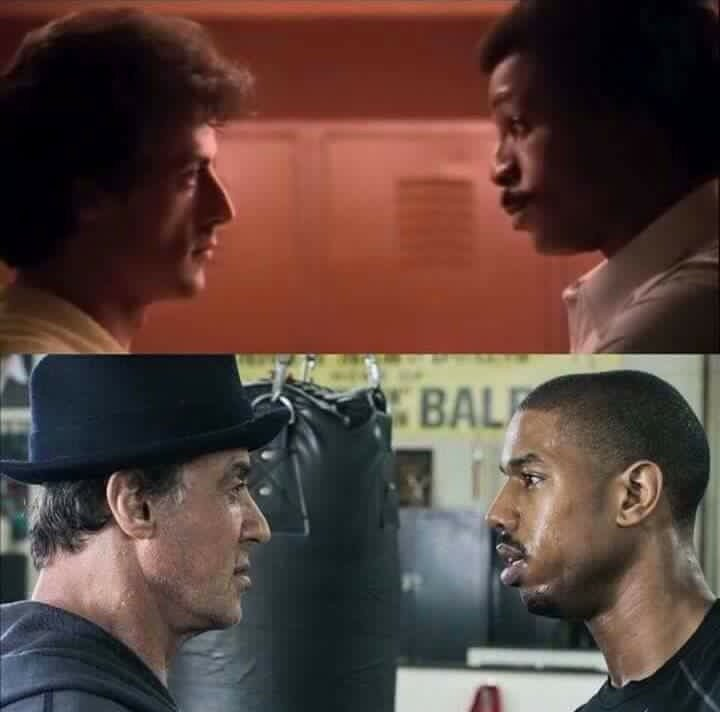 How time flies! #Creed#rocky#officialslystallone https://t.co/46Wds6opUz