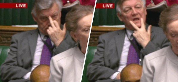 this is definitely how i would sit behind david cameron if i was in parliament too #SyriaVote https://t.co/5VenTxIk6E