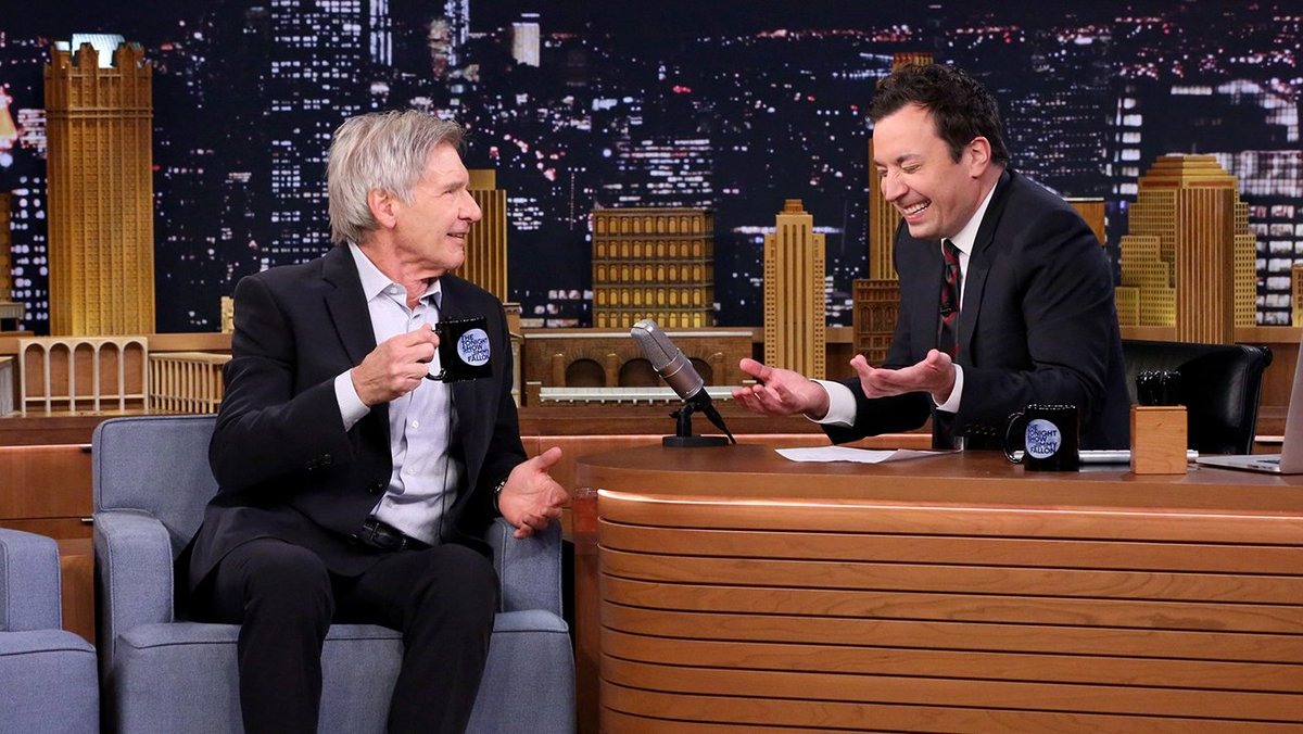 Watch Harrison Ford Explain His 'StarWars' Injury With Han Solo Action Figure