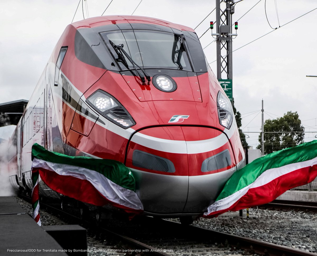 On November 23, the #V300ZEFIRO train set a new Italian speed record, reaching 385,5 km/h during testing. https://t.co/O7y7l1CaKi