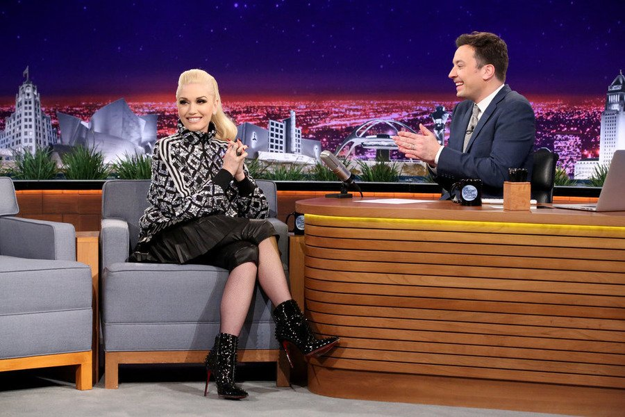 Tomorrow Gwen's returning to @FallonTonight to perform #UsedToLoveYou! We can't wait! Don't miss it!