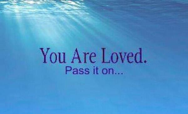 You Are Loved! Let love be your light - and pass it on!   #IAmChoosingLove #spiritchat  #JoyTrain https://t.co/d2W57iRuio