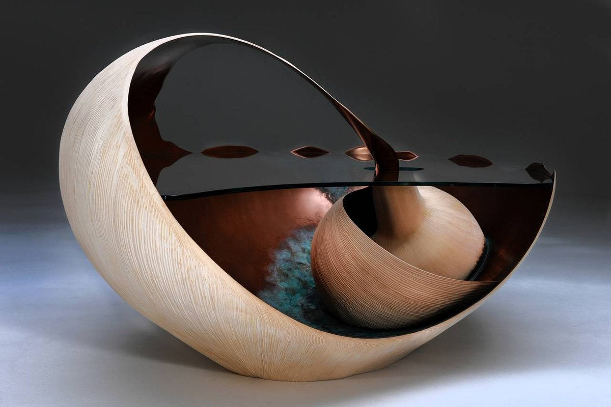 British Furniture Maker Marc Fish Is Inspired By Sea Shells Can You Tell