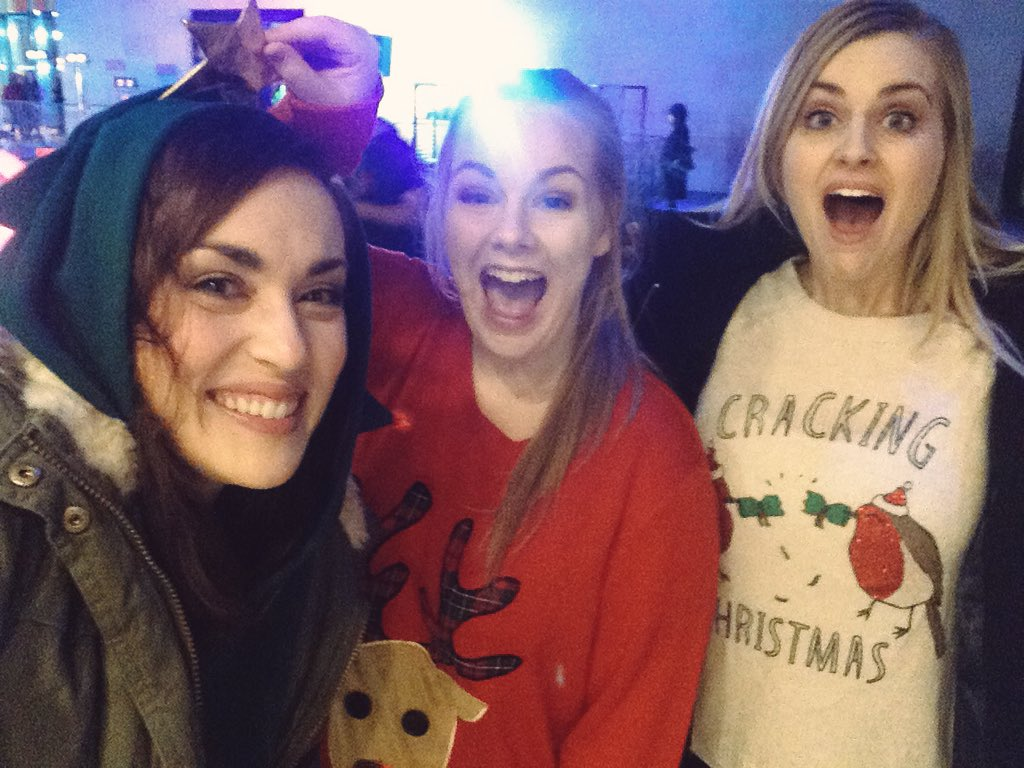 When you literally can't Christmas any harder!!! @RoseEllenDix @RoxeteraRibbons