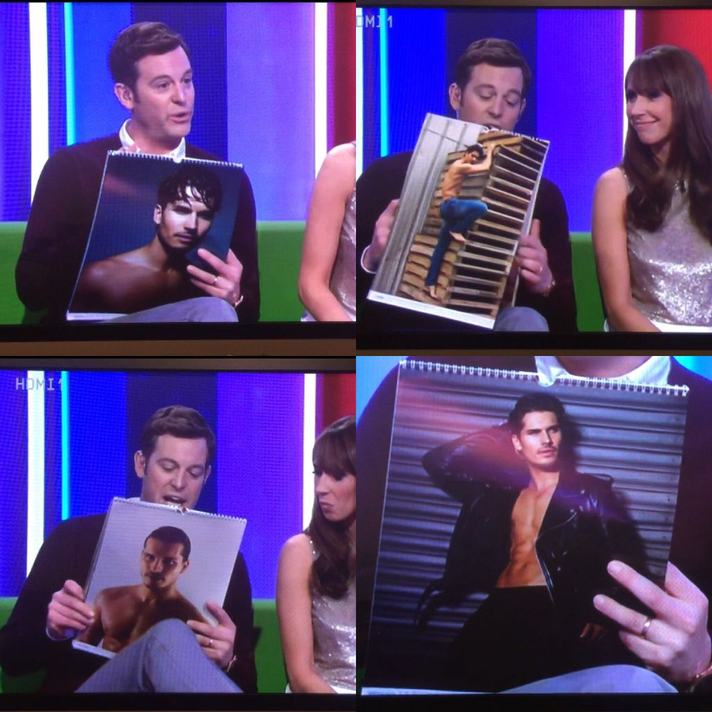 Hope everyone liked the sneak peak of @Gleb_Savchenko 2016 calendar on #TheOneShow @Celebrity_Merch https://t.co/4u0cibkTCb