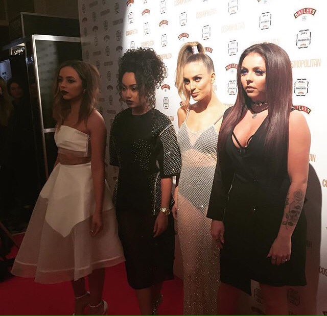 Oh hey @LittleMix looking INCRED on our #CosmoAwards red carpet https://t.co/qwf8LowOKO