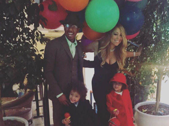 Mariah Carey and Nick Cannon are making the co-parenting thing work during the holidays: