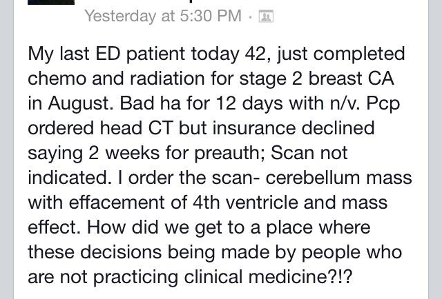 Frustrating message from a ED colleague: https://t.co/PgBT1q8NI0