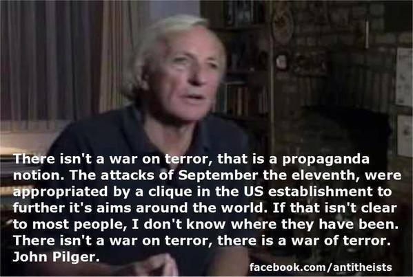 I shall leave it to John @johnpilger to have the last word...#SyriaVote https://t.co/gEwyPDRYMw