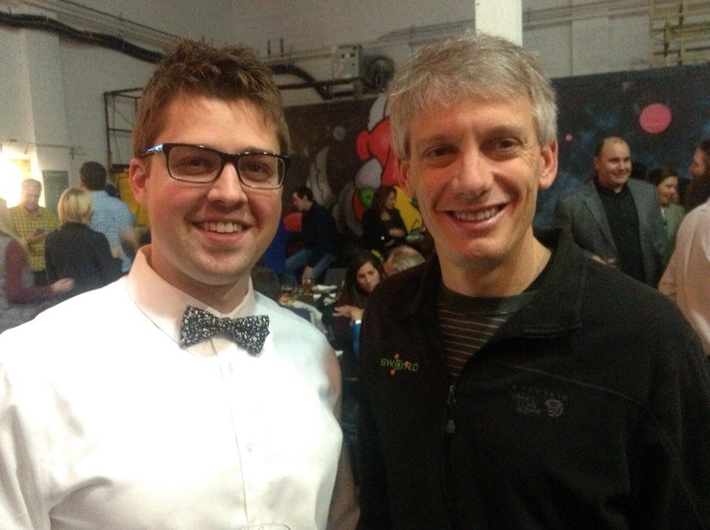 Shawn Stasko & Scott Black, the geniuses behind @drinksword! #BestOfTheBluegrass https://t.co/EFSZRoicgT