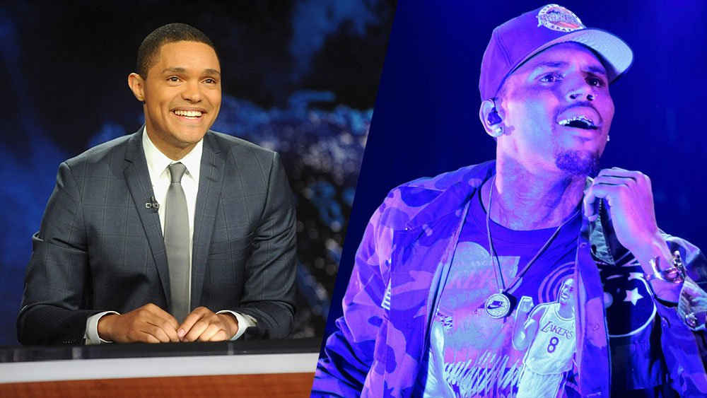 TheDailyShow suddenly cancels Chris Brown interview