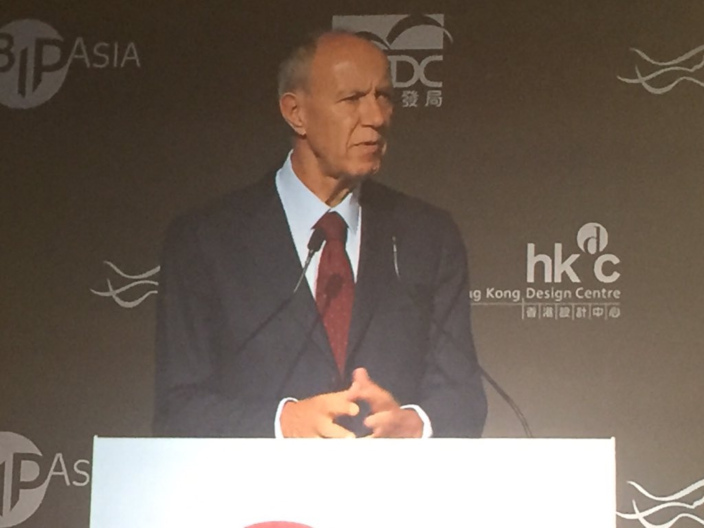 """Asia is now the major IP producing region in the world"" @WIPO Director General Francis Gurry #BIPAsia https://t.co/2DA4iRtmUi"