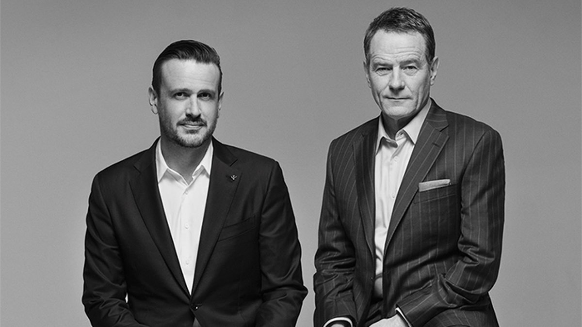 Bryan Cranston & Jason Segel shed popular TV shows for troubled lives of artists in new pics