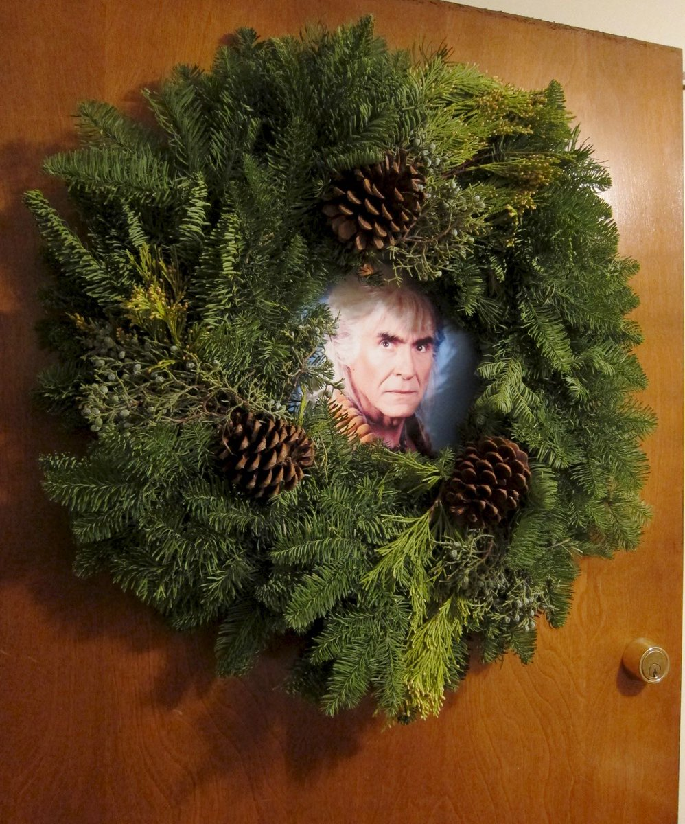 Wreath of Khan. https://t.co/7hMxom77a8