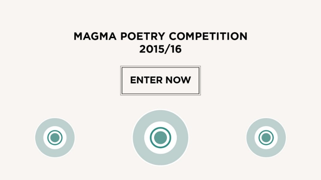 The Magma Poetry Competition 2015/16 is now open for entries! https://t.co/qXrXHxYtp5 https://t.co/dhT3BwYJ4t
