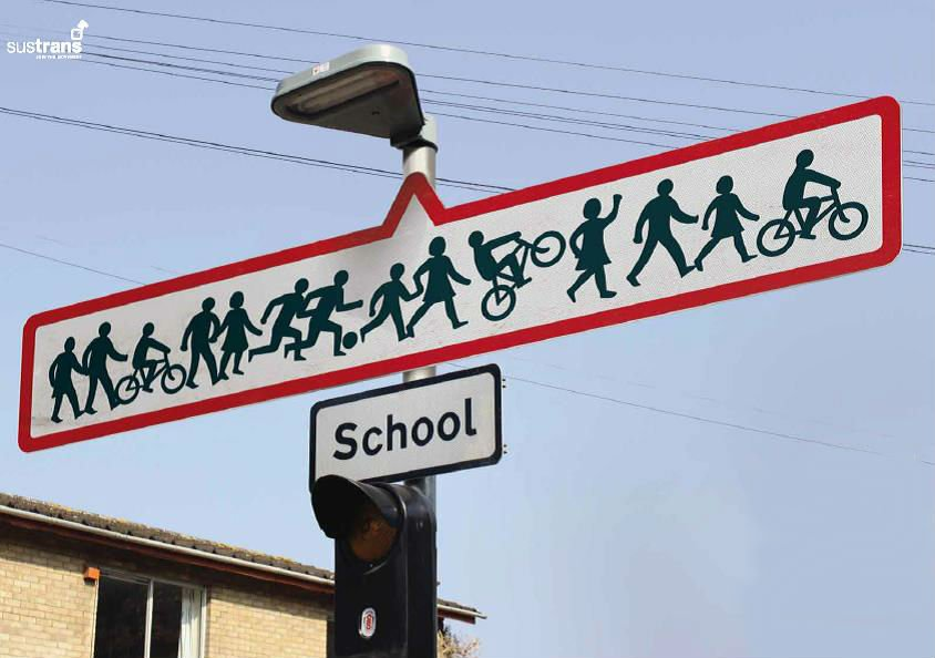 We want to give children a low carbon, active journey to school. We need your help: https://t.co/0cRxW4NWS8 #COP21 https://t.co/jd1WhglaZU