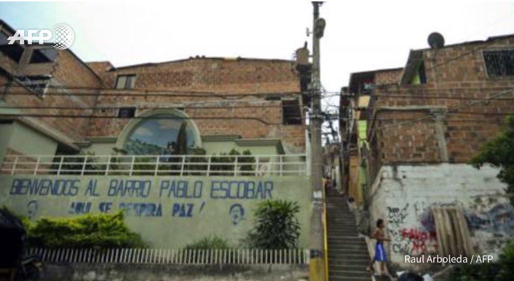 Colombie pablo escobar de la haine au culte afp - Pablo escobar zitate deutsch ...