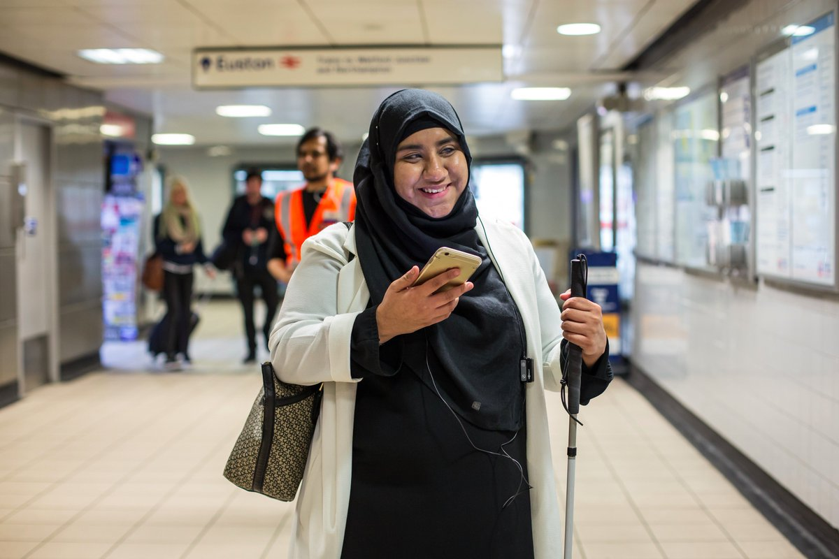 .@Googleorg to invest $1m in @wayfindrstd! The journey continues w trial install at Euston station @tfl https://t.co/s3sG4txZs0