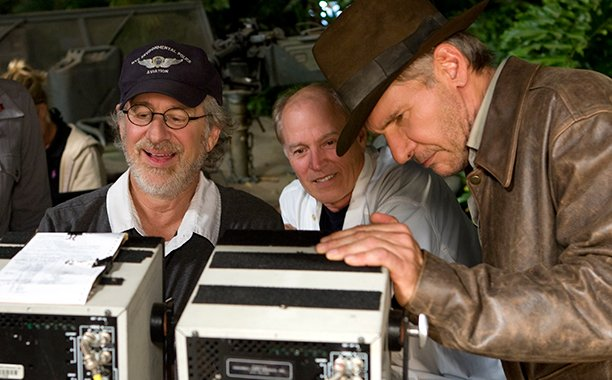 Steven Spielberg says he'd never consider another Indiana Jones besides Harrison Ford: