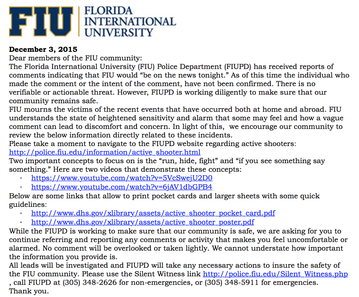 ATTN FIU Community: https://t.co/GJFD7R3P8p
