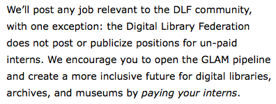 Inspired by @museums365's #openlabworkshop talk, we've made a policy change at @CLIRDLF: https://t.co/3bqIwMfz1T https://t.co/AEGxYiLOkQ
