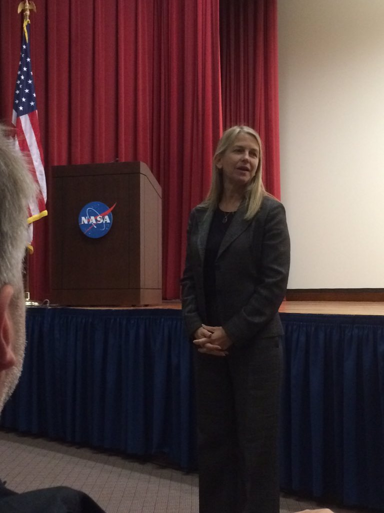 """""""Every time you fly, NASA is with you."""" @DavaExplorer talking about NASA's R&D. #NASASocial https://t.co/26kGtVVQ14"""
