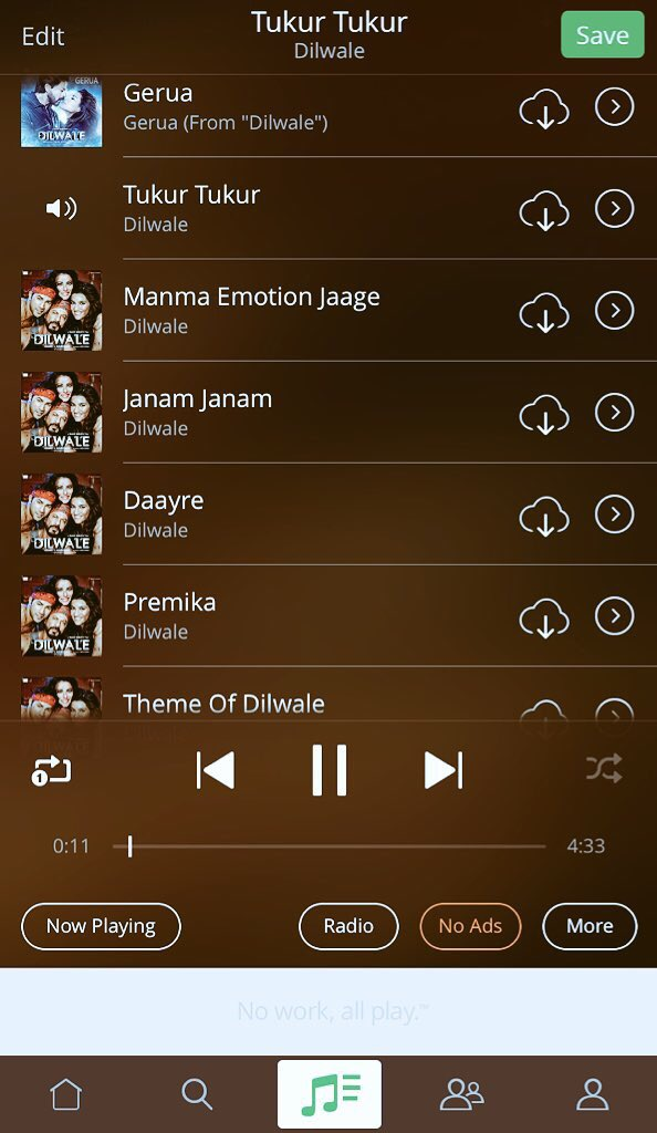 OMG!! OMG!! Can't STOP Listening To Dilwale Songs