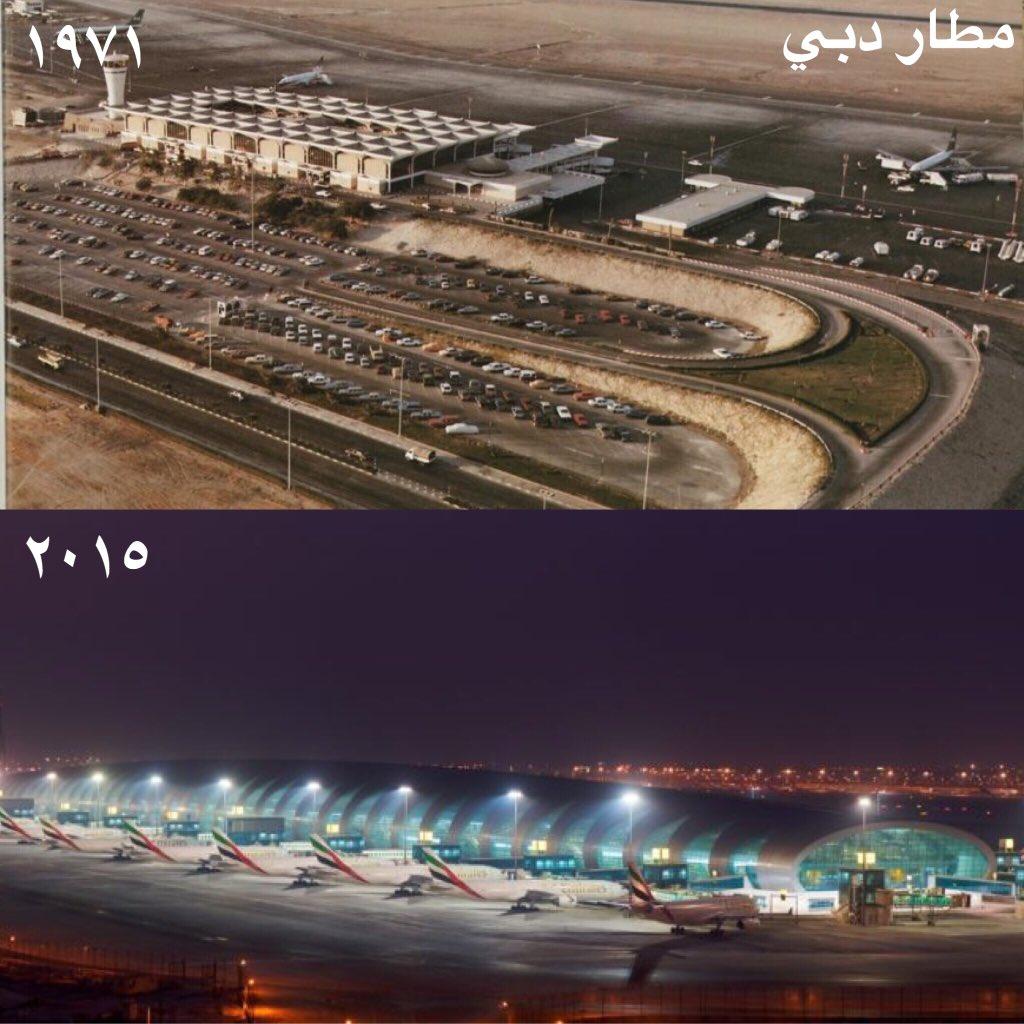 ثمانية صور: شاهد التغيير في #دبي. https://t.co/RRkuvD06k7