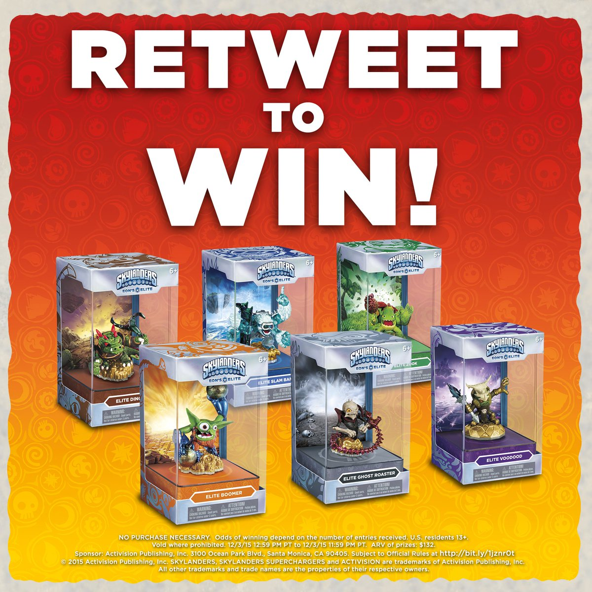 Time to prepare for Kaos! RT for a chance to win a pack of #Skylanders Eon's Elite! Rules: https://t.co/TYAmEcB9w7 https://t.co/pJYD9ie2wM