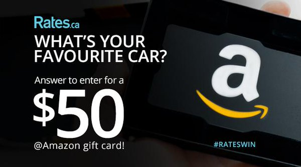 Follow & RT for a chance to #WIN a $50 @amazon gift card. #Contest #RatesWin. https://t.co/OghuB4wzST (My fav car is Mercedes ML350)