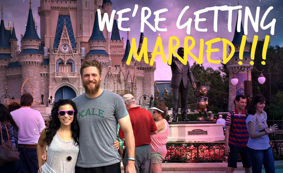 WE'RE GETTING MARRIED!! My fairytale dream is coming true! See @hunterpence's proposal here: https://t.co/oWb9WW93Bs https://t.co/63fKDdgF5w