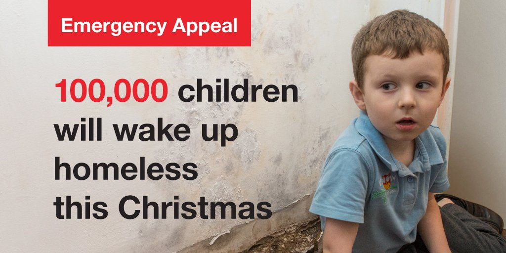 100,000 children will be homeless this Christmas. We need your support: https://t.co/YQxbo52x8o #HomelessAtChristmas https://t.co/1ycqZ7RNno