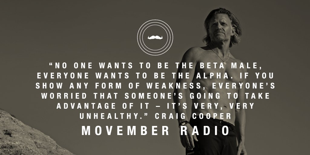 This week on #Movember Radio, @TheNewPrime talks to us about focussing on social connections https://t.co/aHQ4V2S7X5 https://t.co/IrtyB6b346