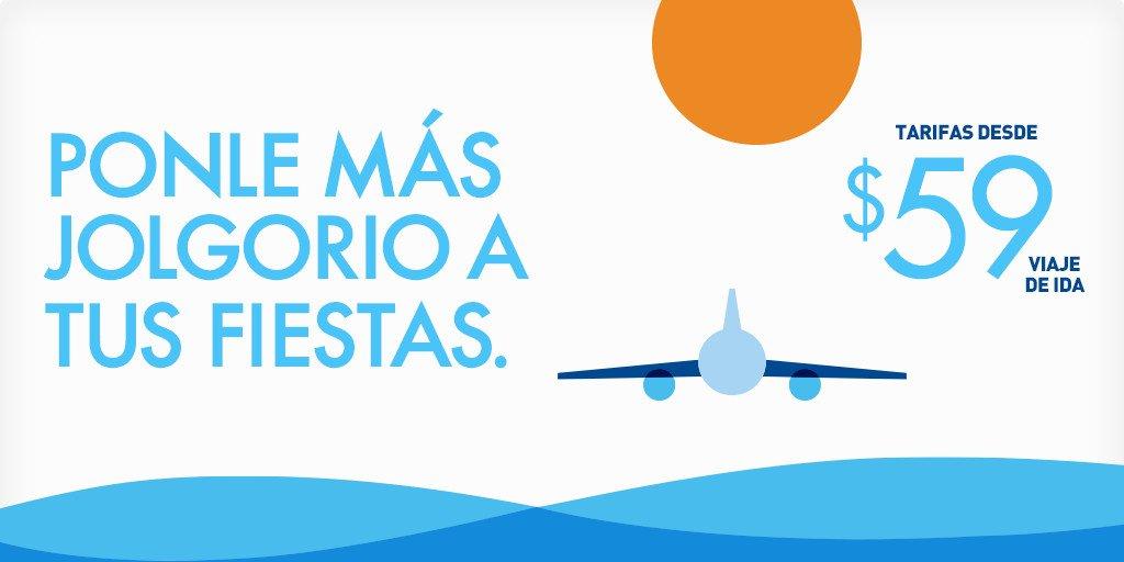 Tarifas bajas desde Puerto Rico reserve antes del 12/5 y viaje entre 12/17-25/2015. + Restr.