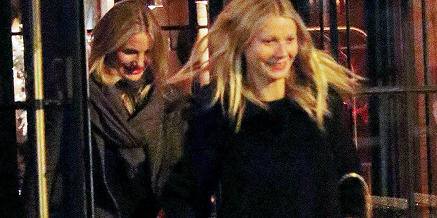 Gwyneth Paltrow, Cameron Diaz and Drew Barrymore just wanna have fun!