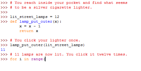 friend wants to learn Python, so I'm making her a #HarryPotter themed tutorial https://t.co/ceypDlCqZY