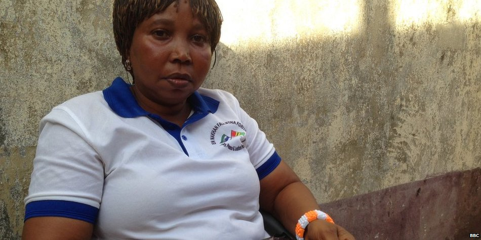 Pain isn't over for many Ebola survivors, the BBC's @TulipMazumdar says