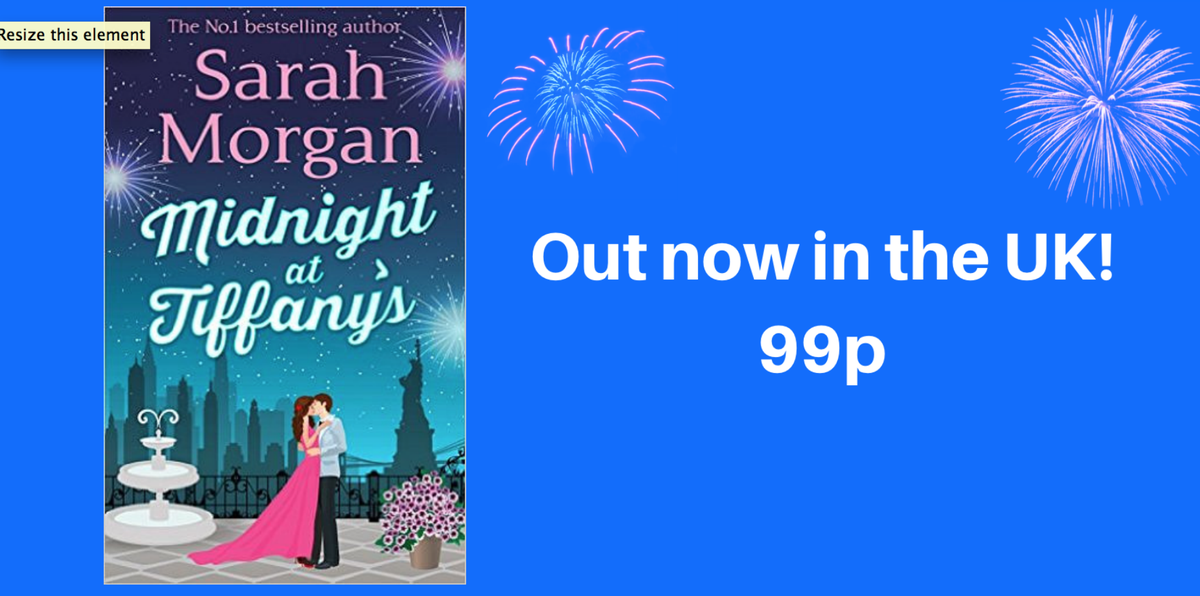 Midnight at Tiffany's is out in the UK for 99p! RT/Follow to win any book from my backlist https://t.co/3h7lcgcMnF https://t.co/TPXJhYUnln