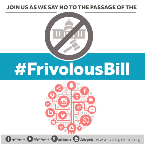 Say No To The Passage Of The #FrivolousBill By The NigerianSenate https://t.co/eAukAGQE9c https://t.co/3RgSSZCkNG