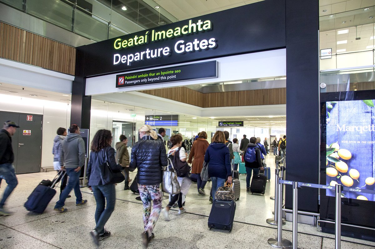 .@DublinAirport breaks annual passenger numbers record with 23.5m welcomed so far this year