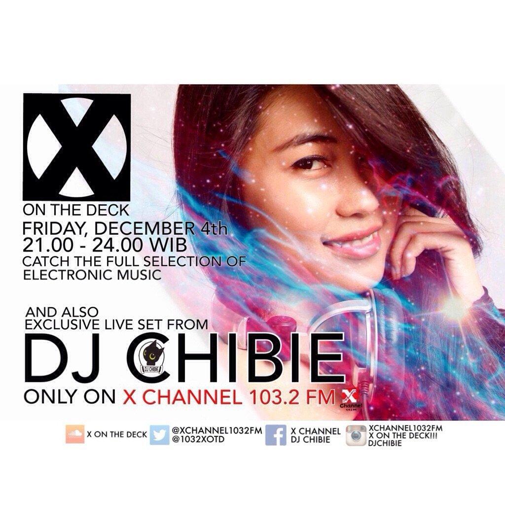 Malam ini X On The Deck dgn guest DJ Chibi jam 9 nanti hanya di @XChannel1032FM stay tuned @infoSerang @KotaSerang https://t.co/OCtnd5HVpT