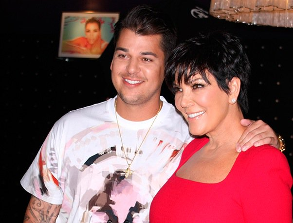 Kris Jenner reveals why Rob Kardashian was missing from Thanksgiving photo
