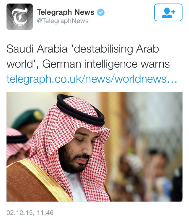 When your intelligence agency tells the truth about Saudi Arabia but then you get a call from your ally the monarch. https://t.co/i93eqVQjlY