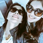 RT @shriya1109: Hyderabad airport,Delayed flight. @Kajal n me https://t.co/JzBoACWYEr