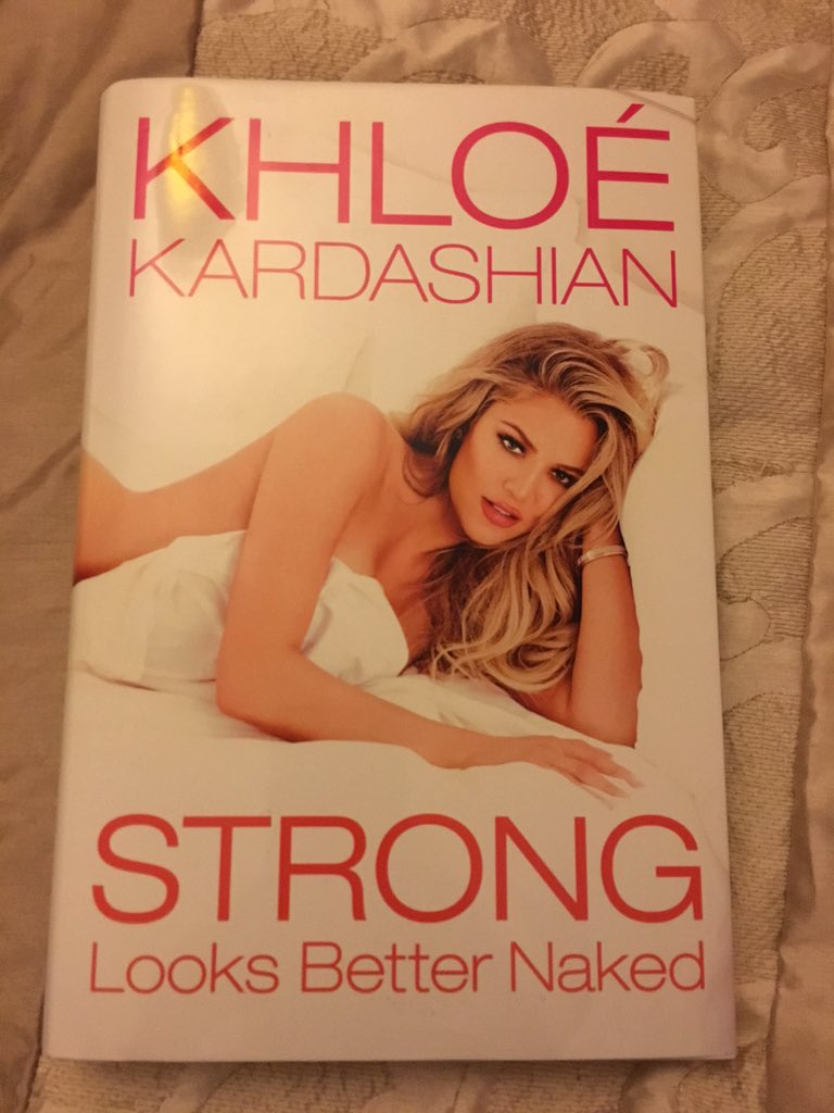 RT @carla_91: Sooo excited to read this???????????? @khloekardashian #StrongLooksBetterNaked https://t.co/xcUCW8yj4i