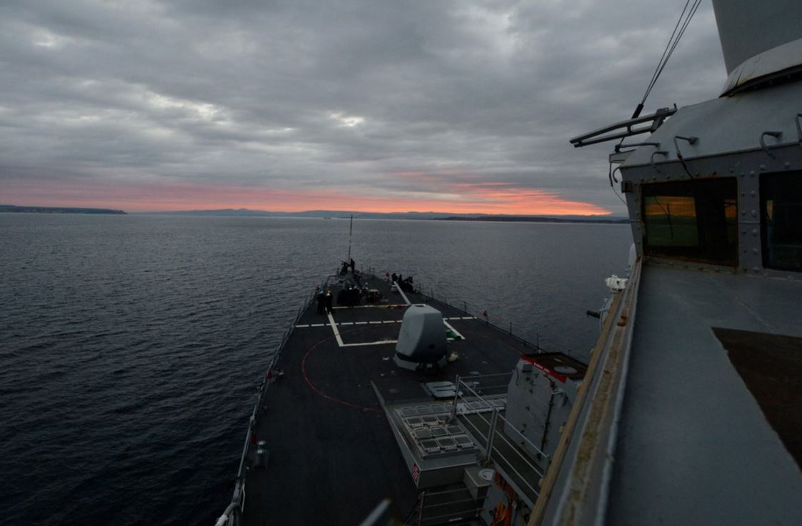 MT @USNavyEurope: #USSRoss, now in #BlackSea, promoting peace and stability. #PresenceMatters https://t.co/IqU89h7RsK